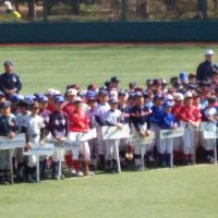 世田谷区軟式野球連盟開会式